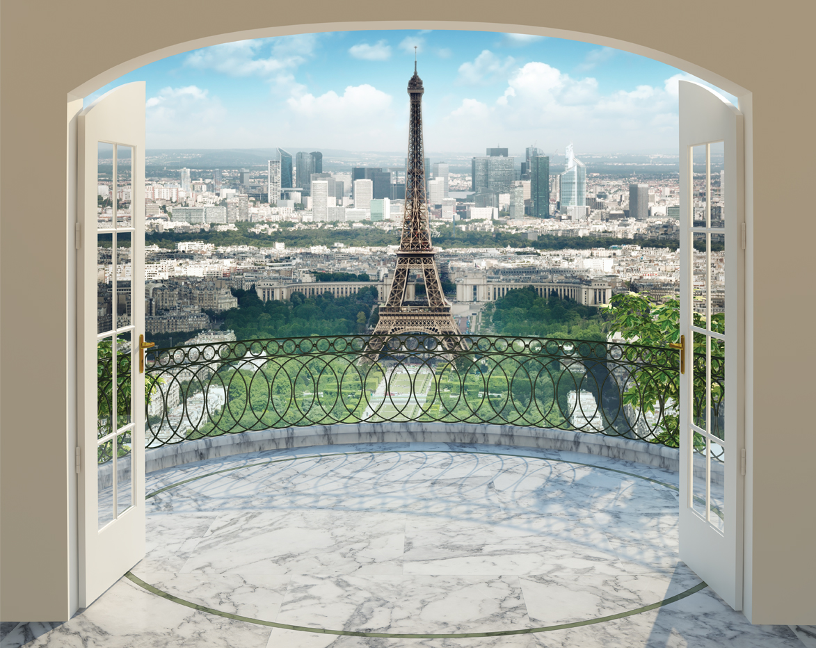 Eiffel Tower Walltastic (12 delen) 43589